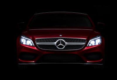 Nuova Mercedes CLS 2015, questo è il frontale